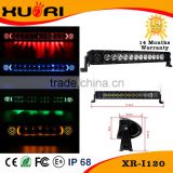 Special Design 120w LIGHT BAR Car Auto Flash Strobe Knight Rider LED Light Strip Kit Waterproof 5 optional color
