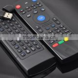 Two side 2.4G MX3 Rii i8 T10 C120 Wireless Air Fly Mouse+Keyboard+Remote Controller For Mini PC MX3