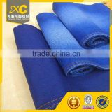 8.5oz cotton polyester satin type supper stretch denim fabric for jeans pants                                                                         Quality Choice