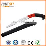 240mm 270mm 300mm 65Mn Pruning Saw with Plastic Sheath                                                                         Quality Choice
