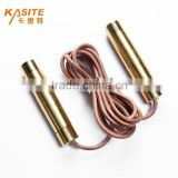 high quality new design fitness crossfit aluminum jump rope leather jump rope