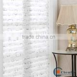 2016 best selling printed lace pleated window blinds                                                                         Quality Choice