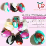 2015 New BPA Free and Safe Health Food Grade Silicone Teething Beads Bulk