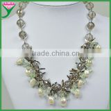 Alibaba website wholesale cheap white simple jewellery sweater freshwater pearl necklace