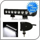 Waterproof 15.5'' 80W led work light Single Row Offroad Flood Spot Combo off road Cree LED Light Bar