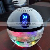 funglan OEM factory air purifier KJ-168 champagne and white air freshener uv lamp aroma diffuser water based air freshener