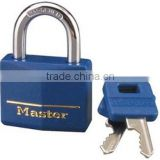 Professional Heavy duty Brass Lock with Blue Cover Master key Solid Brass Keyed Alike Padlock