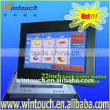 "22"" open frame touch monitor with VGA/DVI signal input for WMS/POG game"