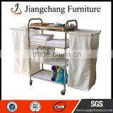 High Quality Wheel Together Hotel Housekeeping Trolley JC-TC23