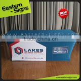 Trade Show Advertising Transfer Printing Polyester Wrinkle And Stain Resistant Table Cloth