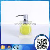 Factory supply customized crystal hotel bathroom accessories soap dispenser                                                                                                         Supplier's Choice