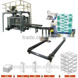Automatic Heavy Bag Palletizing horizontal pallet packing automatic weighing packaging machine