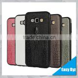 Crocodile Skin Pattern case for samsung A8, Ultra thin pu leather case for samsung A8