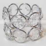 NR002 crystal napkin ring, beaded napkin ring for wedding, crystal napkin ring