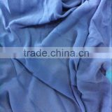 100%polyester stock chiffon fabric solid color chiffon fabric with large quantity