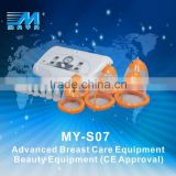 breast enlargement cupping massager/breast enlargement & breast massager machine/breast enlargement device for female