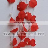 Factory Wholesale Acrylic Petal Beads Branch Wire Acrylic Bead Garland For Wedding Decoration