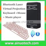 mini wireless laser keyboard projector virtual bluetooth keyboard and mouse for smartphone,tablet pc,laptop