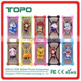 Universal mobile phone case cute animal Silicone bumper case for many phone models for iphone 6 6s plus