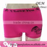 OEM Service Women Underwear Women G-String Briefs Sexy Women's Briefs boxers Panties Cotton Sexy Lady Seamless Boyshorts