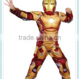 The avengers movie costume cosplay halloween iron man costume the avengers Iron man costume with musle .stretchy party clothes