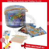 Halal Sweets Kid's Fruity CC Stick Candy with Puzzle