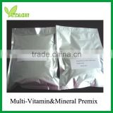 Custom formula vitamins and minerals premix