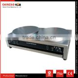 Easy to Use Double Plates Electric Crepe Maker/Double Crepe Machine/Crepe Making Machine