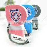 Super mini cooler fan, summer mini handheld fan, fashion cooling mini fan, water spraying fan