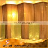 Aluminum wire mesh curtain building material wall covering