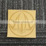 fashion design high quality custom branded leather patch