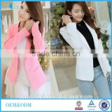 Top quality polyester cotton Women Clothes 2016 Brand Coat Slim Candy Color Blazer Spring Suit Jacket LCB0019