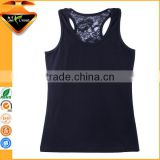 2016 Most Fashionable Women's Tank Top with Lace Back