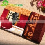 Printing tea- towel China supplier Velvet printed towels size 40x60CM customized size LOGO