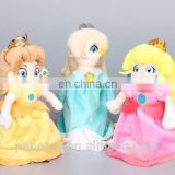 wholesales Super Mario cartoon character plush toys princess doll