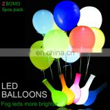 High quality led balloon flash light up glow helium fly party balloons
