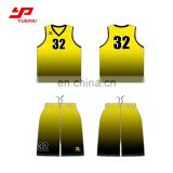 Wholesale sports clothing custom printed 100% Polyester quick dry basketball jersey pictures