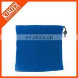 Custom embroidery promotional polar fleece neck pillow microfiber