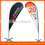 cheap custom flying teardrop banner