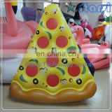 Customize logo High quality Stock Inflatable Giant Pizza Pool float