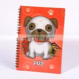 lenticular manufacturer spiral notebook ruler with high quality