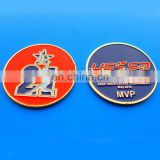 hot sale custom US highly welcome baseball game gold souvenir coin
