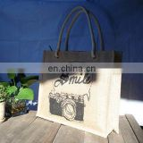 2012 new design personalized jute tote bags
