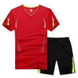 latest sports updates tee t shirts and shorts in drop shipping low MOQ to 1 piece