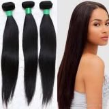 Unprocessed Silky Straight 10inch - 20inch Indian Curly Human Hair Peruvian Tangle Free