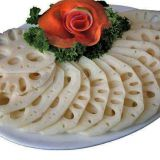 Vegetable Lotus Rhizome Lotus Root Chips Slices High Quality Fresh and Edible Sliced Rhizomes Lotus