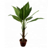 new artificial bonsai mini banana tree for decoration