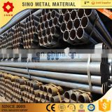 gi pipe galvanized square steel tube black iron st52 round pre galvanized steel tube pipe with pipe fitting