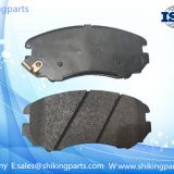 D924 Hyundai brake pad,semi metallic brake lining,good wear-resisting