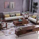 2020 hot sale home design Solid wood sofa 1+2+3 set with nice fabric upholstery